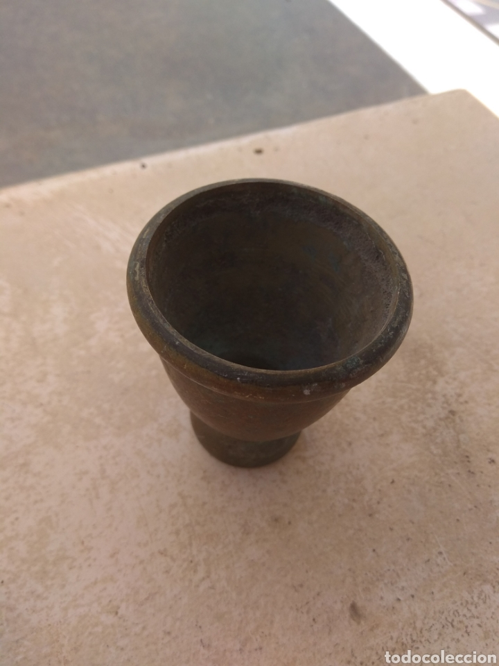 Antigüedades: Pata Embellecedora de Bronce para Mueble Grande - Foto 3 - 219415336