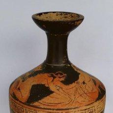 Antiquités: BLACK FRIDAY - ERÓTICA GRIEGA DE FIGURAS ROJAS ESTILO ÁTICO (REPRODUCCIÓN). Lote 34708592
