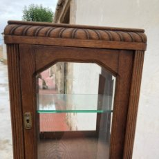 Antigüedades: VITRINA ANTIGUA MADERA. Lote 219466585
