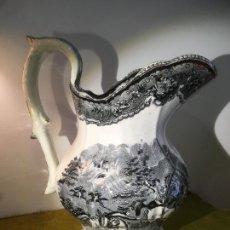 Antiquités: JARRA GRANDE FÁBRICA DE CARTAGENA, MIDE 27,5 X 13, CMS. BIEN CONSERVADA. Lote 219478982