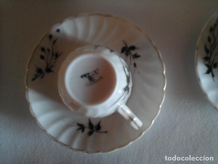 Antigüedades: JUEGO DE CAFÉ DE PORCELANAS DE BIDASOA - Foto 3 - 219496190