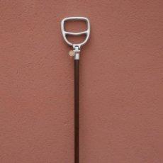 Antiquités: BASTON ASIENTO PORTATIL MADE IN ENGLAND TRION SEATSTICK SHOOTING WALKING – MADERA Y ALUMINIO. Lote 219505098