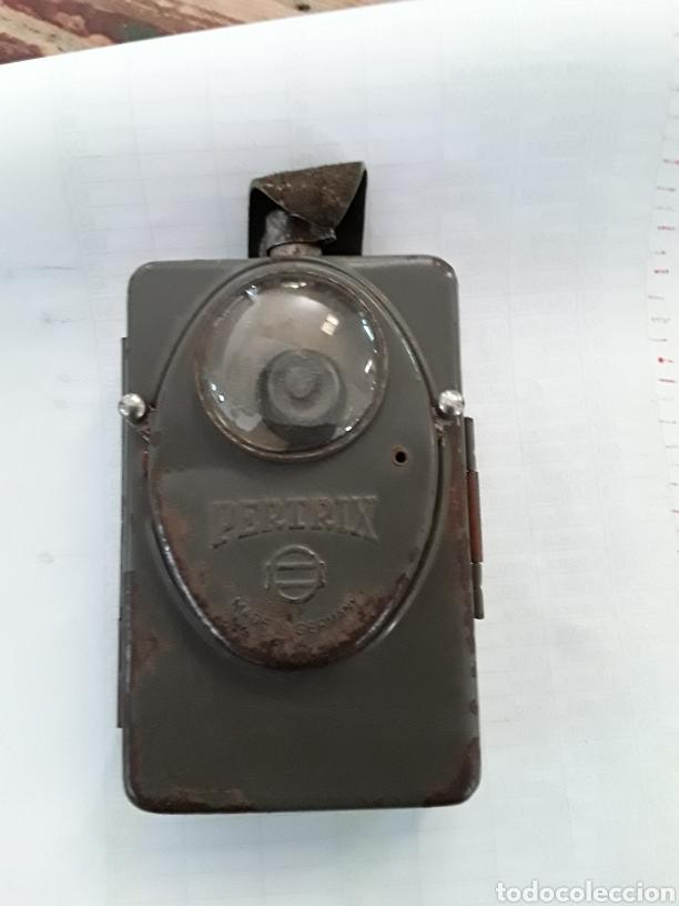 Antigüedades: Linterna de petaca - Foto 2 - 219517568