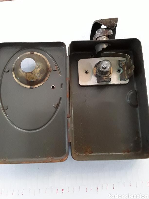 Antigüedades: Linterna de petaca - Foto 5 - 219517568