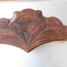 Antigüedades: COPETE DE MADERA MODERNISTA PARA CAMA. Lote 219544355