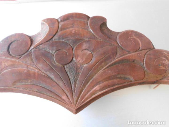 Antigüedades: Copete de madera modernista para cama - Foto 2 - 219544355
