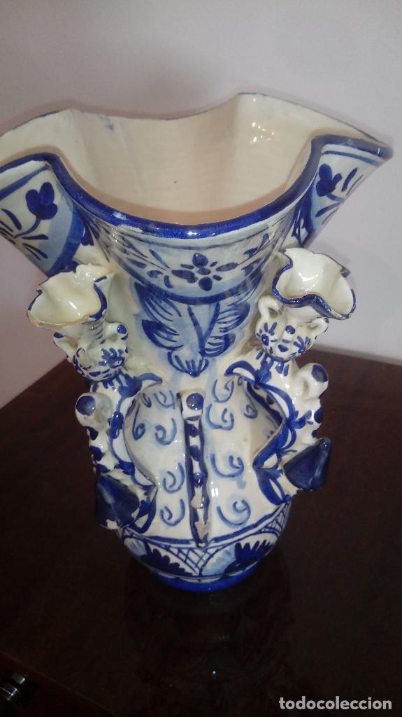 JARRON PP DEL 1900 CERAMICA DE ANDUJAR JAEN JARRA DE ESTUDIANTE MUY BONITO 30 CMS BIEN CUIDADO (Antigüedades - Porcelanas y Cerámicas - Úbeda)