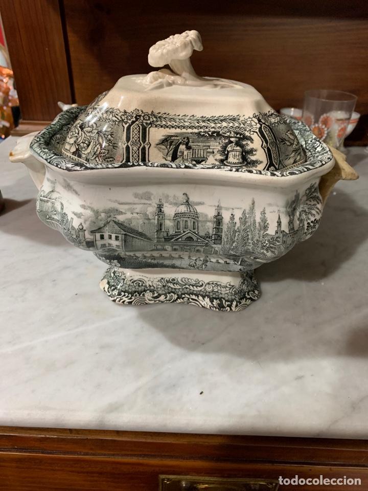 SOPERA DE SARGADELOS TERCERA ÉPOCA (Antigüedades - Porcelanas y Cerámicas - Sargadelos)