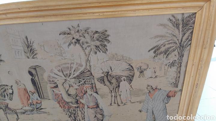 Antigüedades: Antiguo tapiz marroquí año 1900 - Foto 3 - 219675805