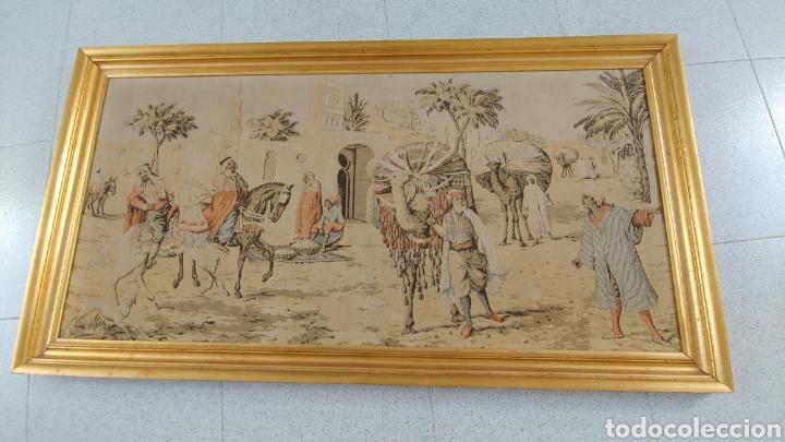 ANTIGUO TAPIZ MARROQUÍ AÑO 1900 (Antigüedades - Hogar y Decoración - Tapices Antiguos)