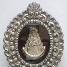 Antigüedades: VIRGEN DEL ROCIO RELICARIO. MED. 17 X 13 X 3 CM. Lote 219735157