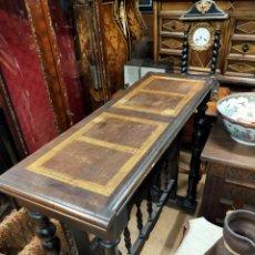 Antiquités: MESA DE BARGUEÑO. Lote 219842785