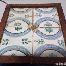 Antigüedades: PLAFON ANTIGUO AZULEJOS CATALANES. Lote 219860616