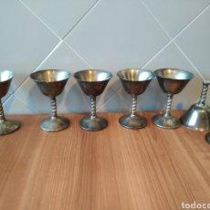 Antiquités: LOTE DE 6 COPAS VISIUC. Lote 219860902
