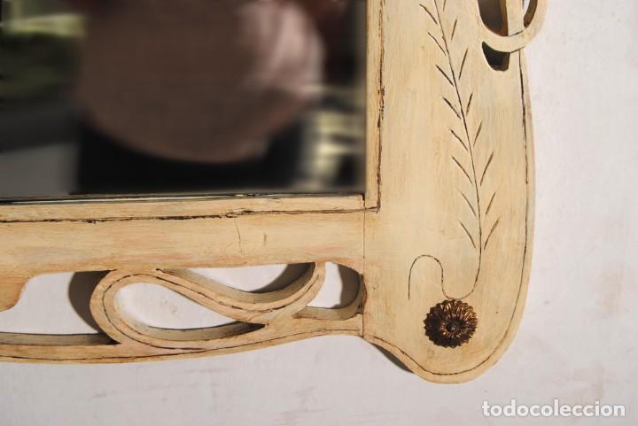 Antigüedades: Antiguo Espejo Recuperado - Foto 3 - 219864830