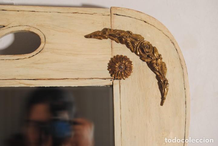 Antigüedades: Antiguo Espejo Recuperado - Foto 8 - 219864830