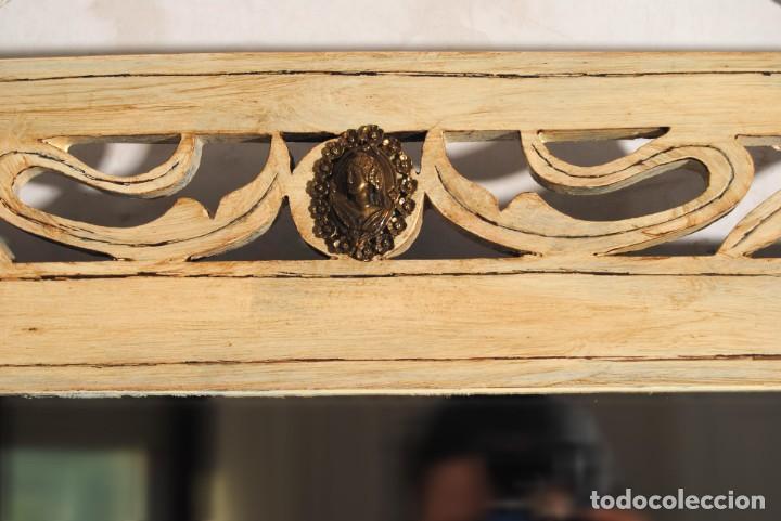 Antigüedades: Antiguo Espejo Recuperado - Foto 9 - 219864830
