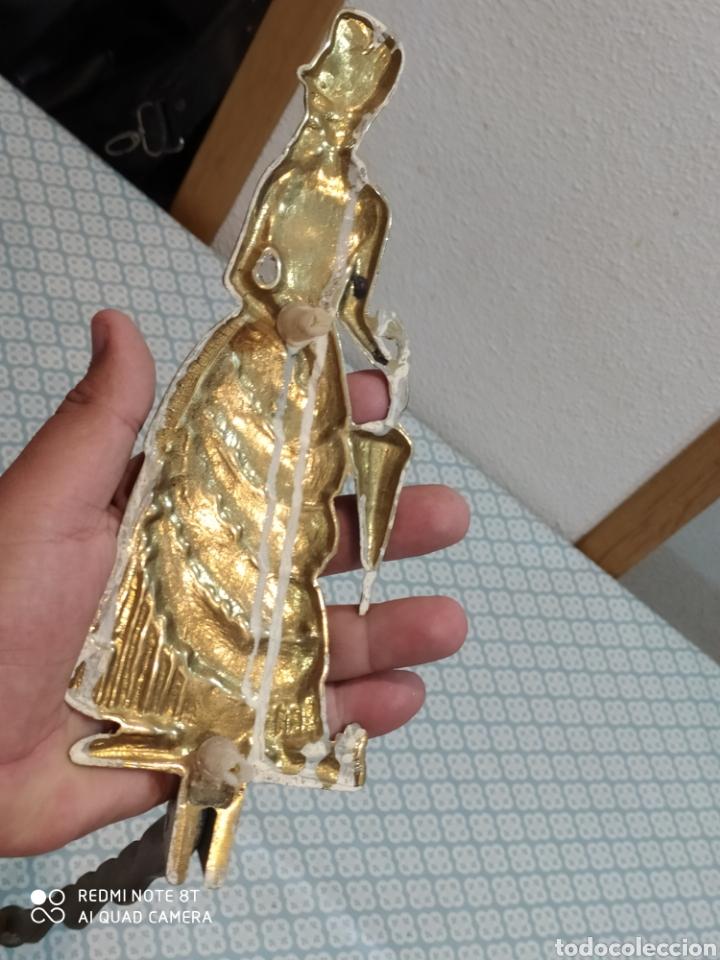 Antigüedades: Espectacular perchero de bronce señora de época siglo XIX - Foto 7 - 219875836