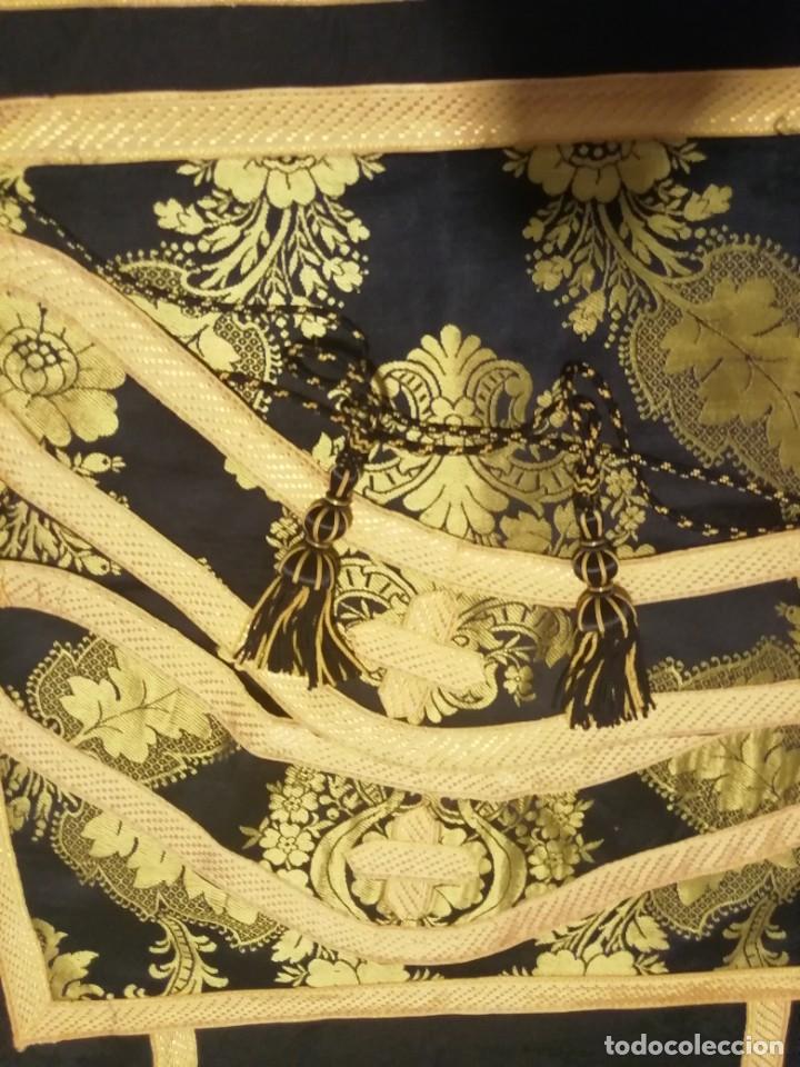 Antigüedades: PAREJA DE DALMATICAS NEGRAS - Foto 6 - 219876667