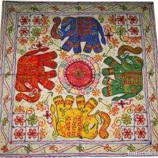 Antigüedades: PRECIOSO TAPIZ DE LA INDIA. NUEVO. Lote 219900646