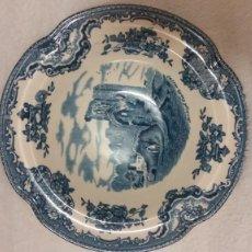 Antigüedades: PEQUENO Y ARMOSO PLATO PORCELANA JAOHNSOM BROS,ENGLAND .OLD,BRITAIN CASTLESIN 1792. Lote 219912151