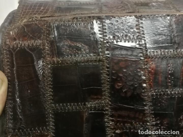 Antigüedades: UNICO TC ANTIGUO BOLSO DE PIEL TIPO CONSTANCE HERMES PARIS MAGNIFICO, AÑOS 60 - Foto 10 - 281845533