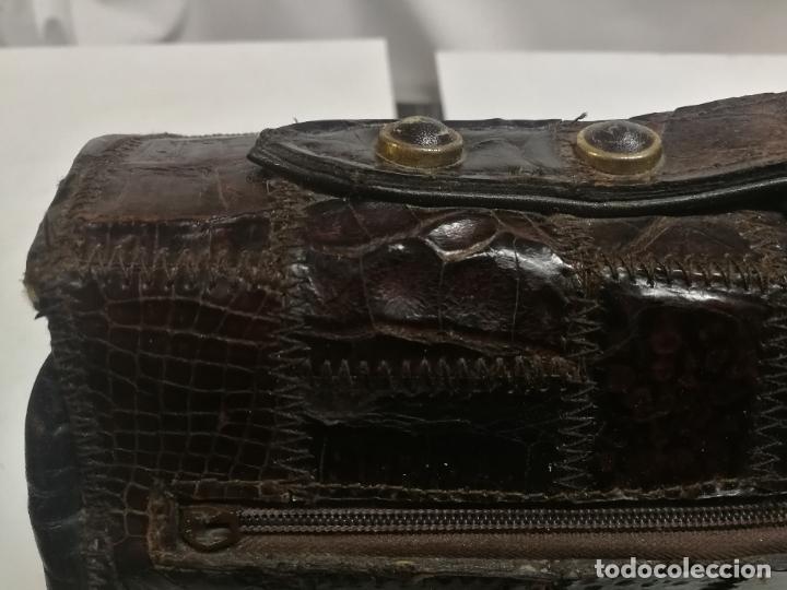 Antigüedades: UNICO TC ANTIGUO BOLSO DE PIEL TIPO CONSTANCE HERMES PARIS MAGNIFICO, AÑOS 60 - Foto 13 - 281845533