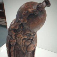 Antigüedades: TALLAS DE BAMBÚ CHINA. Lote 219917495