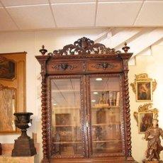 Antigüedades: VITRINA ANTIGUA TRINCHERO ALFONSINO. Lote 219965505