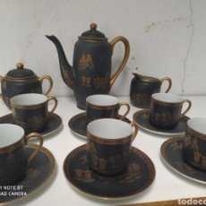 Antiguidades: JUEGO DE CAFÉ JAPONÉS PORCELANA. Lote 219986325