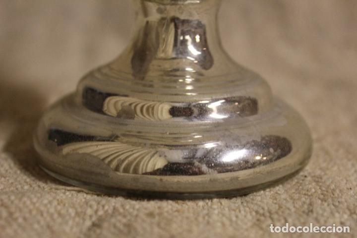 Antigüedades: COPA. VASO. CRISTAL AZOGADO, GRABADO. GRANJA O BOHEMIA. SIGLO XIX. - Foto 10 - 220024225