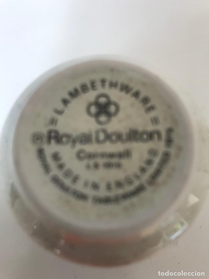 Antigüedades: 1975 Royal Doulton Cornwall , porta huevos, Lambethware, made in England - Foto 2 - 220059612