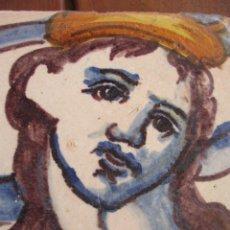 Antigüedades: AZULEJO VALENCIANO SIGLO XVII. Lote 220063023