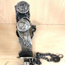 Antigüedades: ANTIGUA ESPUELA DE LATON. Lote 220067866