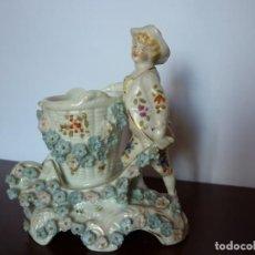 Antigüedades: FIGURA DE PORCELANA ALEMANA- MEISSEN. Lote 220094088