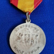 Antigüedades: MEDALLA VIRGEN DEL LORETO CENTENARIO 1850-1950 VALENCIA. Lote 220110623