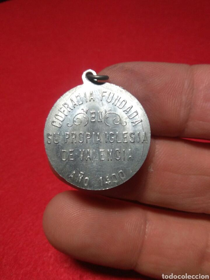 Antigüedades: Antigua medalla religiosa ,santa lucia - Foto 2 - 220111922