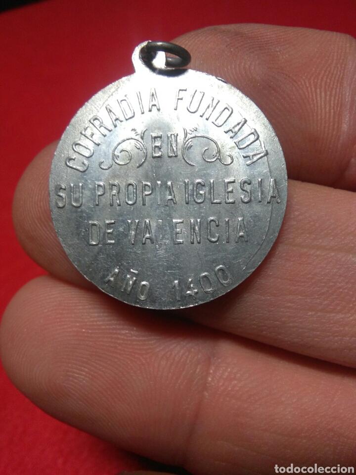 Antigüedades: Antigua medalla religiosa ,santa lucia - Foto 4 - 220111922