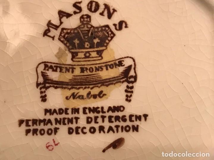 Antigüedades: ANTIGUO JARRON MASON´S SERIE NABOB MADE IN ENGLAND - Foto 6 - 220124656