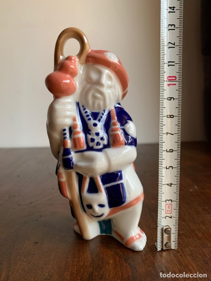 Antigüedades: Peregrino. Sargadelos. Figura porcelana - Foto 7 - 220275103