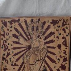 Antigüedades: AZULEJO VALENCIANO SOCARRAT - VIRGEN- NTRA.SRA.DEL SOCORRO BENETUSSER - BONDIA QUART DE POBLET. Lote 220312642