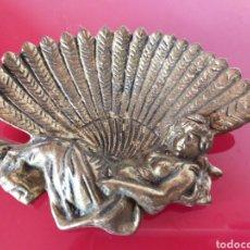 Antigüedades: JABONERA MODERNISTA METAL. Lote 220347991
