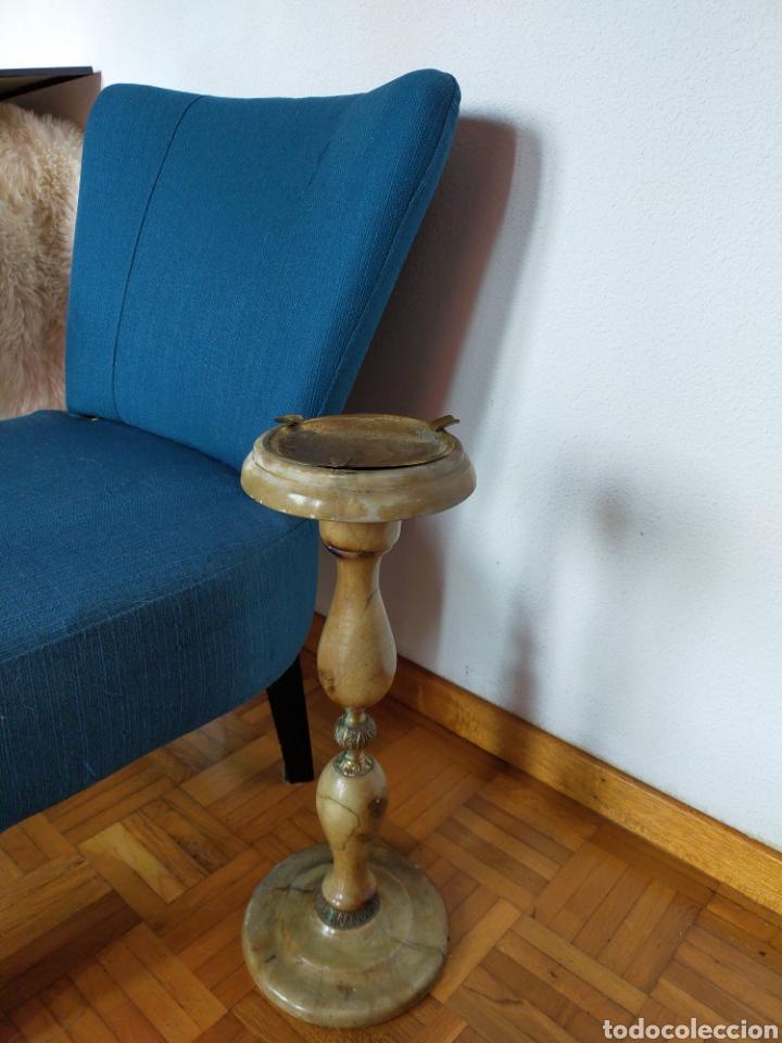 Antigüedades: Cenicero de pié en alabastro - Foto 6 - 220358301