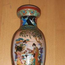 Antiquités: JARRON PORCELANA ORIENTAL ESTILO SATSUMA. VER DESCRIPCIÓN. Lote 220407508
