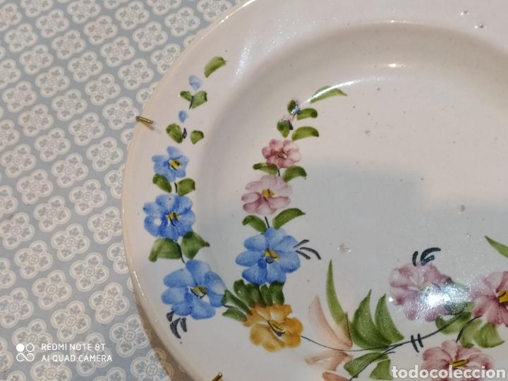 Antigüedades: Antiguo plato murciano Lario principios del siglo XX - Foto 3 - 220416411