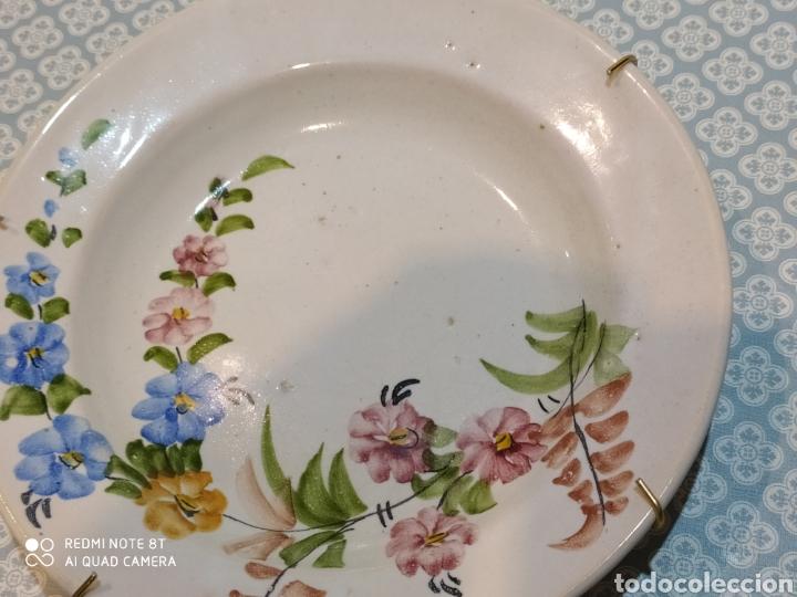 Antigüedades: Antiguo plato murciano Lario principios del siglo XX - Foto 4 - 220416411