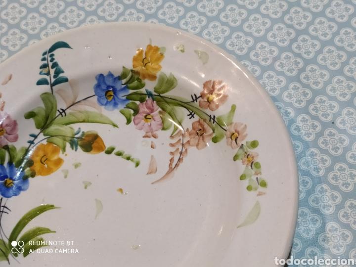 Antigüedades: Antiguo plato murciano Lario principios siglo XX - Foto 3 - 220418175