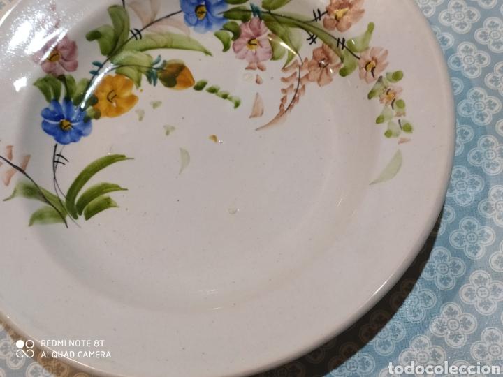 Antigüedades: Antiguo plato murciano Lario principios siglo XX - Foto 4 - 220418175