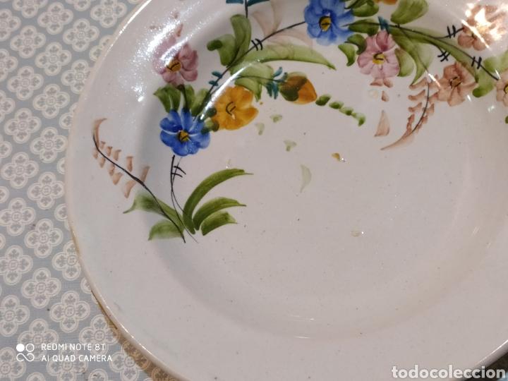 Antigüedades: Antiguo plato murciano Lario principios siglo XX - Foto 5 - 220418175