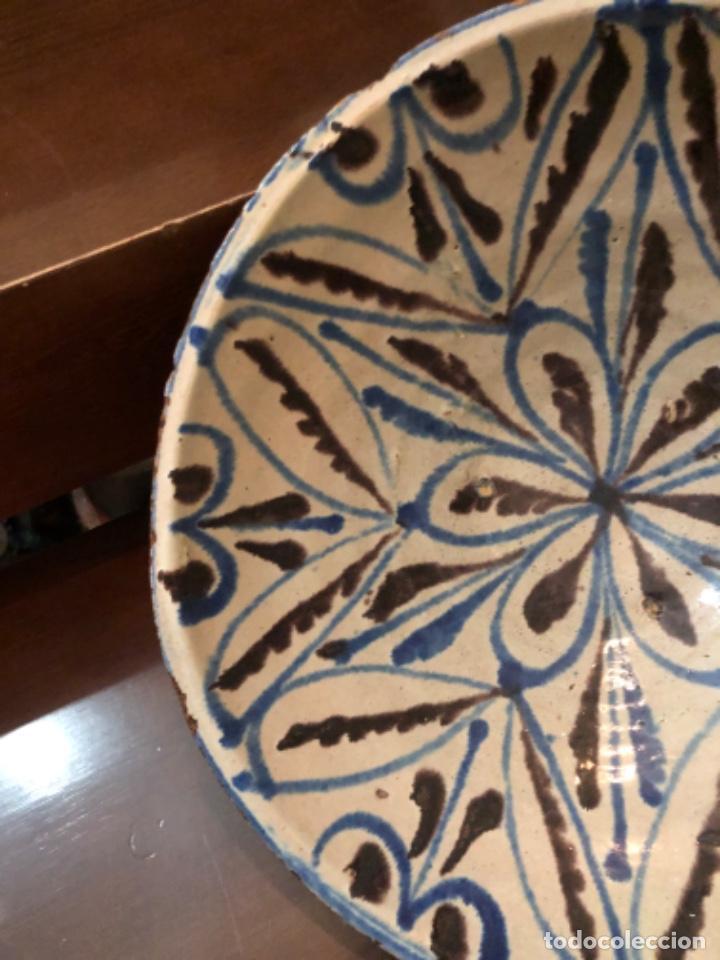 Antigüedades: ANTIGUA FUENTE EN CERÁMICA DE FAJALAUZA - Foto 3 - 220431068